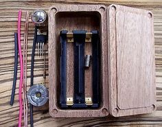 Timber Box Mod Package 18650 Room Do It Yourself Mosfet Hammond 1590g individual vaporizer - http://www.vapestore.wupples.com/wood-box-mod-kit-18650-enclosure-diy-mosfet-hammond-1590g-personal-vaporizer/
