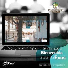 Hoy queremos darle la #Bienvenida a  @hotelpachamamadq Hotel - Spa una empresa que hace tributo a los paisajes Colombianos despertando sentidos al explorar la cultura la biodiversidad el ecoturismo y el ambiente de Colombia. Bienvenidos a nuestra #FamiliaExus! . . . #nuevosclientes #familia #Branding #Diseñoweb  #desarrolloweb #paginasweb  #crearpaginawebprofesional #desarrolloweb #diseñoweb Hotel Spa, Branding, Electronics, Instagram, Web Development, Exploring, Design Web, Brand Management, Identity Branding