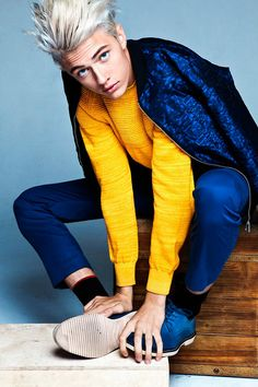 Lucky Blue Smith ph JM Dayao for F*king Young