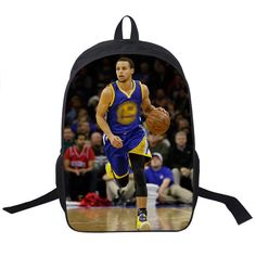 Basketball Star Stephen Curry Backpack For Teenagers Boys School Bags Men Sports Backpack Kids School Backpacks Children Bag