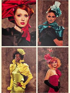 Image result for The Hunger Games' Capitol City fashions