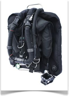 JJ-CCR Rebreather with Shearwater predator.  Save Helium! ;-)