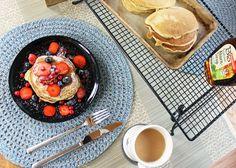 healthy vegan breakfast ideas - pancakes
