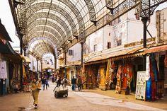 Rabat Medina, Rabat, Marrueco / y su zoco
