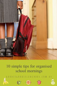 Learn simple tips for organised school mornings and an stress free school year, from cost saving hacks for school labels to tips for school lunches. Easy School Lunches, Prep School, School Hacks, School Labels, Room For Improvement, Starting School, School Routines, Kids Up, Best Bags