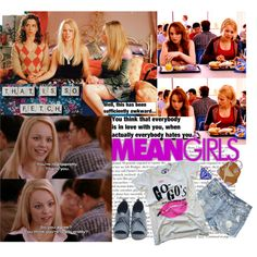 53.Mean Girls by italian-londonlover on Polyvore