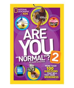 This Are You Normal? 2 Paperback is perfect! #zulilyfinds