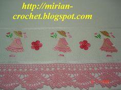 ஜMirian-receitas de crochêஜ: Barradinho de crochê