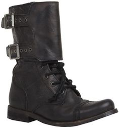 All Saints black boots. These guys will last a lifetime   All Saints   Pretty Little Liars
