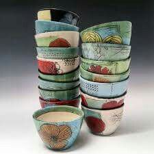 Stacking up the bowls and getting ready for my show opening at Roscoe Ceramic Gallery in Downtown Oakland May Whitney Smith, Pottery Techniques, Porcelain Clay, Eclectic Style, Earthenware, Ceramic Pottery, Sculpture Art, Mosaic, Etsy Seller