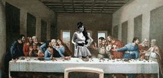 "Amy Winehouse | Community Post: 55 Pop Culture Parodies Of ""The Last Supper"""