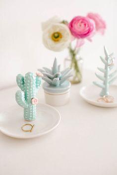 LC Lauren Conrad Cactus Ring Holder