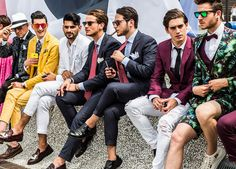 The Streets Of Florence: Pitti Uomo 90 – Street Style – Day 1 -