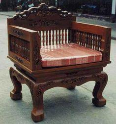 Indonesian Bench From Reclaimed Teak At Gadogado Bali