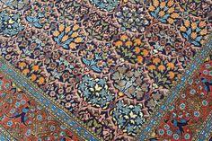 Hereke rug, $1 250.00