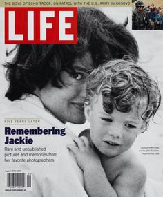 LIFE Magazine August 1999 - Remembering Jackie Kennedy  JFK JR with his mother on this iconic cover