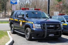 New York State Police Tahoe