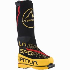 The La Sportiva Olympus Mons Cube Mountaineering Boot is an updated version of La Sportiva's Olympus Mons Evo. La Sportiva updated the outer boot with a dual Boa closure for a quick, simple, and secure fit. Welding Technology, Non Plus Ultra, Mountaineering Boots, Mountain Equipment, Ice Climbing, Extreme Sports, Winter Shoes, Olympus, Outdoor Gear