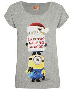 Despicable Me Minion Christmas T-Shirt