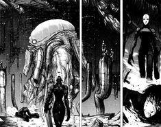 faniacgallery:   BLAME a cyberpunk manga by Tsutomu Nihei (1998)