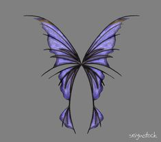 Fairy Wings 2 by seiyastock.deviantart.com on @deviantART