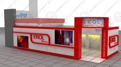 3Ds Max Erol Exhibition Stand Design - 3D Model