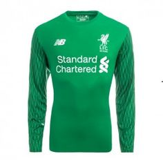 Liverpool FC Season Home LS Goalkeeper LFC Shirt,all cheap Jerseys Shirts are AAA+ quality and fast shipping,wholesale and retail,all the uniforms will be shipped as soon as possible,guaranteed original Replica best quality China Kits Liverpool 2017, Liverpool Soccer, Steven Gerrard, Neymar, Messi, Premier League, Goalkeeper Kits, Jersey Atletico Madrid, Iker Casillas
