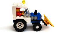 Vintage Lego Snowplow