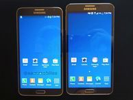 Samsung Galaxy Note 3 Neo gives deja vu in leaked photo The Galaxy Note 3 Neo looks to be busted wide open, with detailed pics, screenshots and benchmarks that show a phone almost identical to the Note 3.