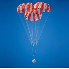 "125.5k Likes, 351 Comments - NASA (@nasa) on Instagram: ""Engineers successfully tested the parachutes for our Orion spacecraft at the U.S. Army Yuma Proving…"""