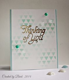 Barb's Studio Creations: Thinking of You