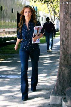 PHOTOS - Jennifer Love Hewitt plus chic qu'à son habitude et surtout plus… Melinda Gordon, Look Fashion, Autumn Fashion, Fashion Outfits, Fashion Trends, Fall Outfits, Casual Outfits, Cute Outfits, Summer Outfits