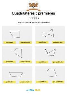 Le but de l'exercice est de dire si, oui ou non, la figure présentée est un quadrilatère. Catégorie : Géométrie Module : Quadrilatères : premières bases Application téléchargeable sur l'AppStore. Pour en savoir plus : https://www.youtube.com/watch?v=jnBPUgB48Wg