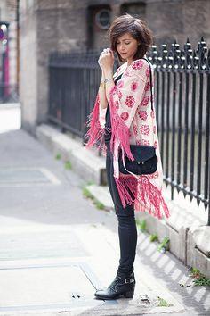 kimono and sleek lines