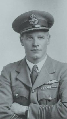 """9b7d6ecef88 South African Adolph Gysbert """"Sailor"""" Malan a famed RAF fighter pilot who  led No. 74 Squadron RAF"""