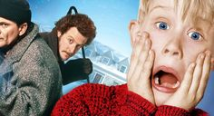 Home Alone 1990 Whith Macaulay Culkin, Joe Pesci, Daniel Stern Movie