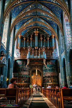 St Cecilia Cathedral Albi France by Tiziano Valeno on 500px