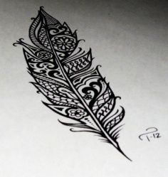 Feather Tattoos for girls from Quote Tattoos - Discover unique & inspiring stuffs you'll love
