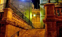 Birgu.  One of the three cities across the water in Malta.