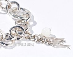 Handmade silver bracelet by Helga Markhus, Norway #gullsmedhelga , gullsmedhelga.com Handmade Silver, Norway, Jewelry Design, Bracelets, Bracelet, Arm Bracelets, Bangle, Bangles, Anklets