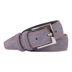 ANDERSONS BELTE GREY LEATHER WITH ORANGE. Get it here: http://www.fernerjacobsen.no/sortiment/herre/assessoirer/belte/andersons-belte-a2662-pl11-g1  #belt #mensfashion #mensstyle