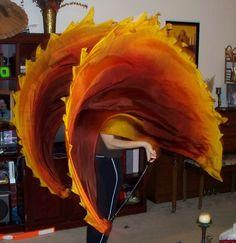 Sahariah's Silk Belly Dance Half Cirfcle Veil por SilksbySahariah