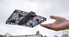 Hover Camera is a 4k camera drone you can grab in any way you want without sacrificing your fingers to the drone gods.