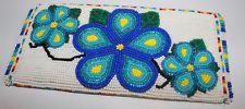 Ojibwe Ojibway Indian Beaded Flowers Coin Purse Native American Leech Lake MN