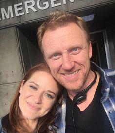 Greys Anatomy Couples, Greys Anatomy Characters, Greys Anatomy Cast, Grey Anatomy Quotes, Kevin Mckidd, Sarah Drew, Grey's Anatomy Tv Show, Gilbert And Anne, Grey Pictures