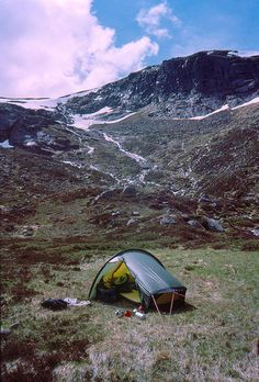 Hilleberg Akto. A spacious, amazingly light, solo tent with true all season function.  Packed weight is 3lbs. 12oz.