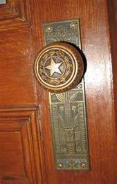 Antique door knobs are most of the time placed in an auction because ...