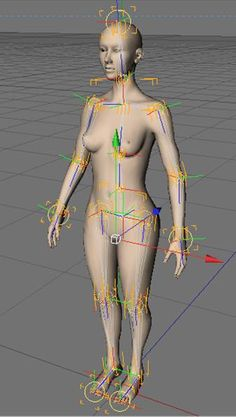 Cinema 4D Character Rigging