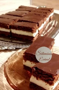 Kinder tejszelet, a legnagyobb kedvencünk, nem lehet megunni! Tiramisu, Sweets, Cookies, Chocolate, Cake, Ethnic Recipes, Food, Reading, Deserts