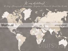 X Printable X Printable World Map With Countries And - Earth map with country names